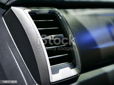 istock Car Interior Heater Vents 1080313626