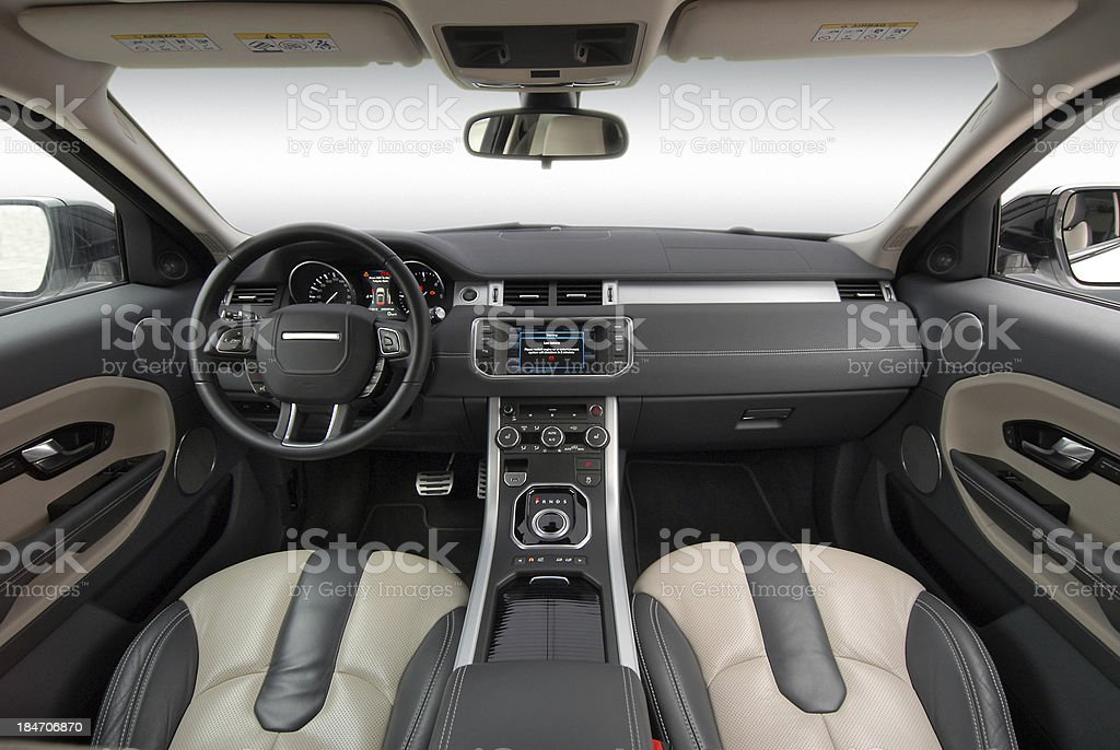 Awesome Car Interior Stock Photo