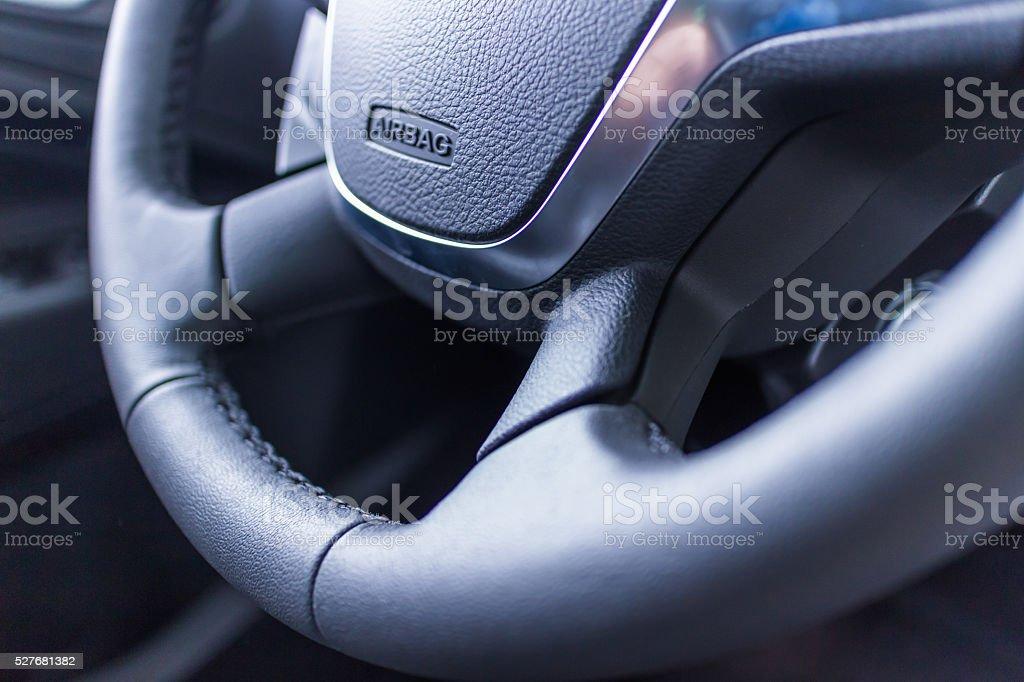 interior del coche - foto de stock