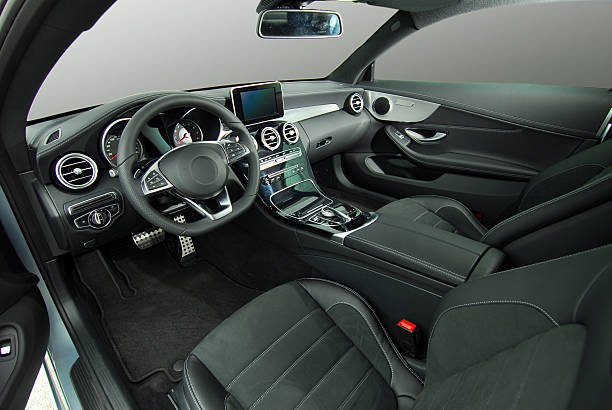 car interior - car interior stock photos and pictures