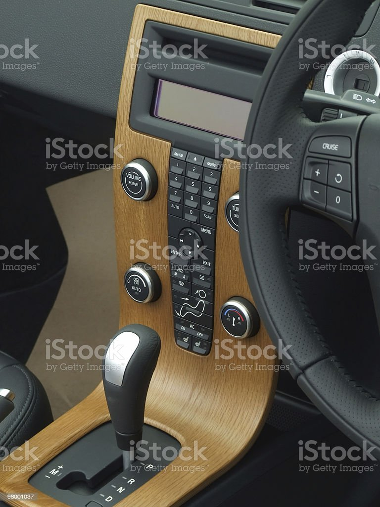 Interior de carro foto royalty-free