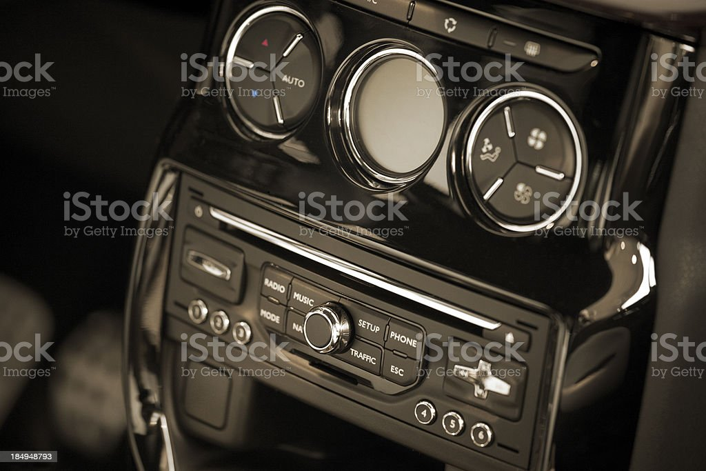 car interiour royalty-free stock photo