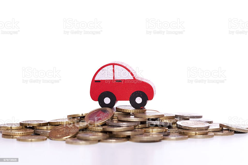 Car investment royalty-free stock photo