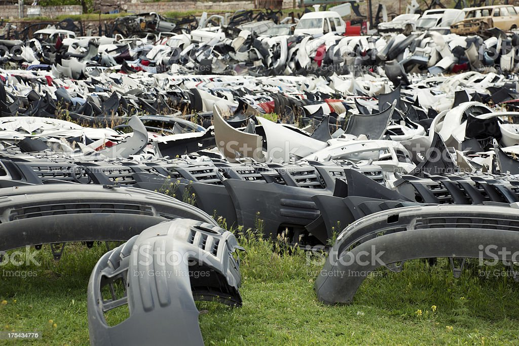 Car Junkyard royalty-free stock photo