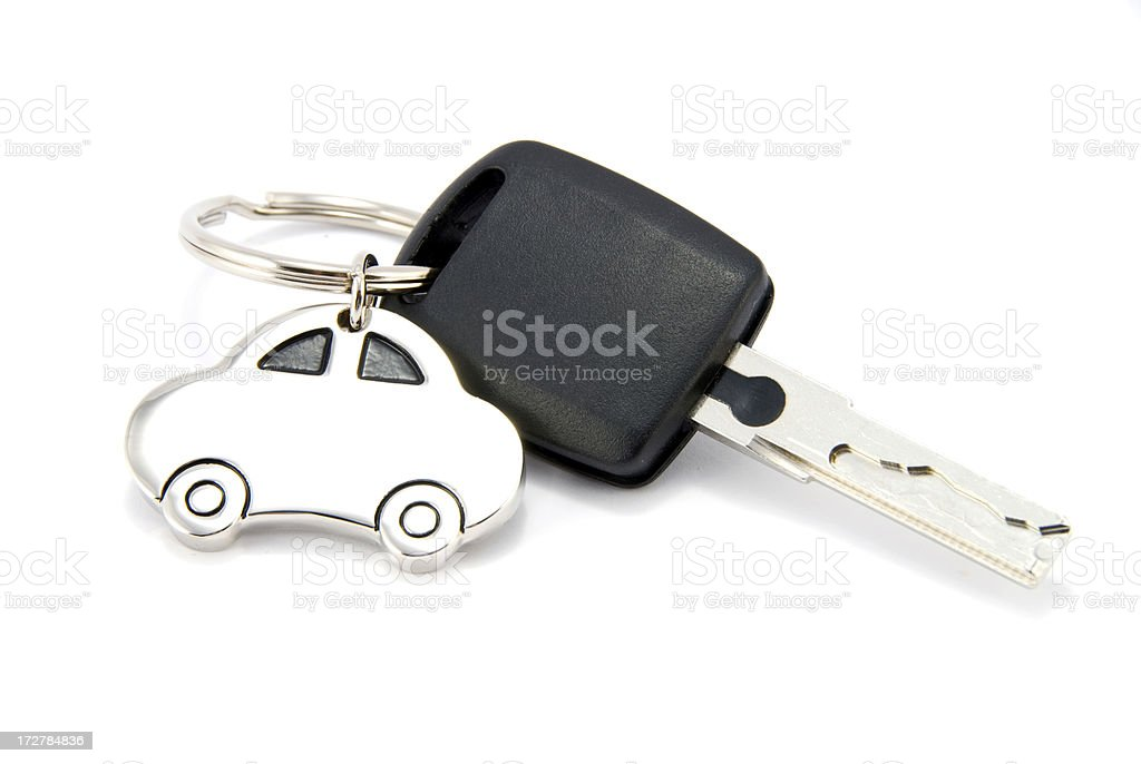 Car Key Isolated stock photo