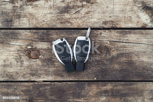539841066istockphoto Car Key on the table close-up 934403816