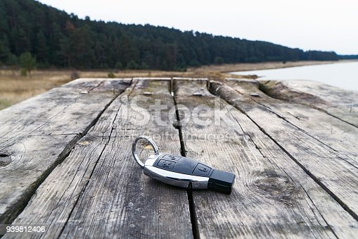 539841066 istock photo Car Key on the table close-up 939812406