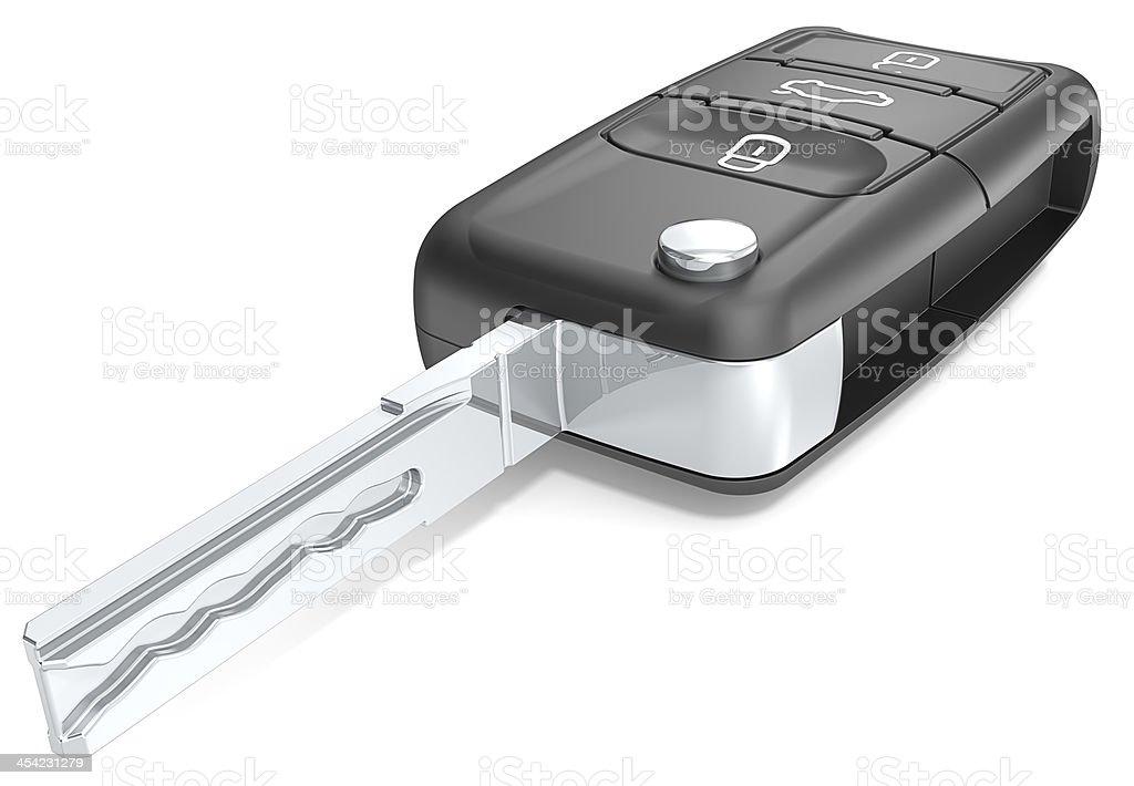 Car key. royalty-free stock photo
