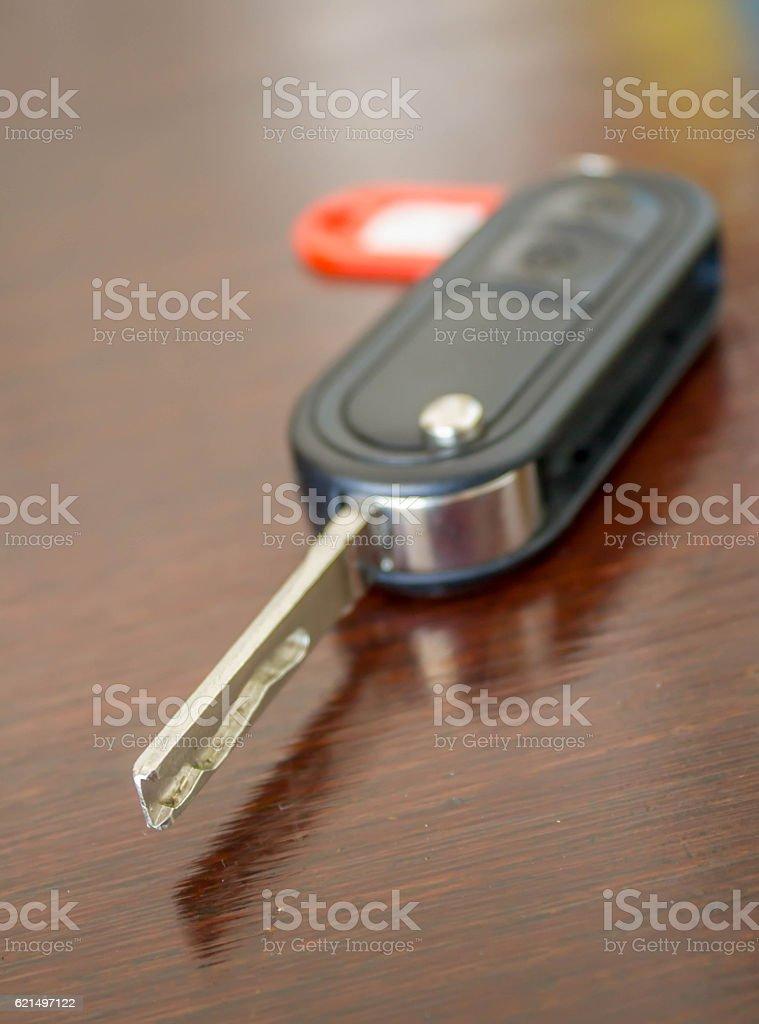 Autoschlüssel mit Fernbedienung Lizenzfreies stock-foto