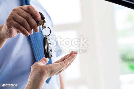 istock Car Keys of New Car 480263658