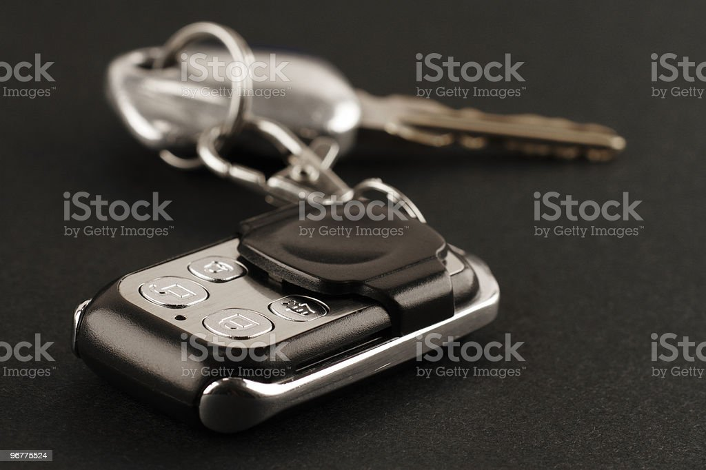 Car keys royalty-free stock photo