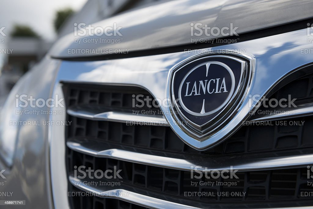 Lancia automobile royalty-free stock photo