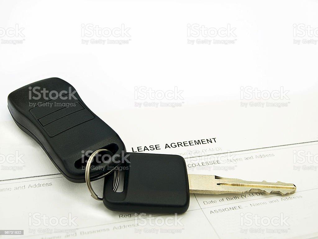Car lease stock photo