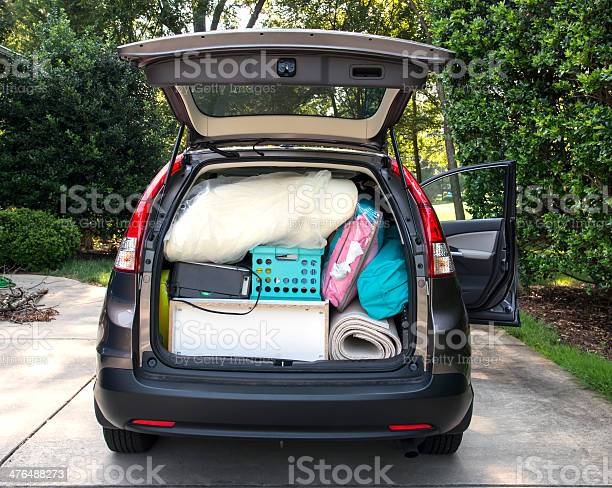 Car loaded for college move in picture id476488273?b=1&k=6&m=476488273&s=612x612&h=tcehim3fmzctuoiinrmtiulxbt q0go930n9uuaqjw4=