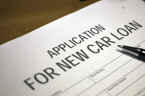 512011833 istock photo Car loan application 512156045