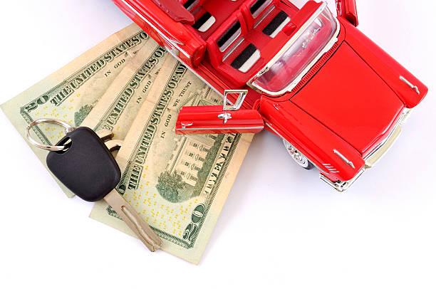 car loan stock photo
