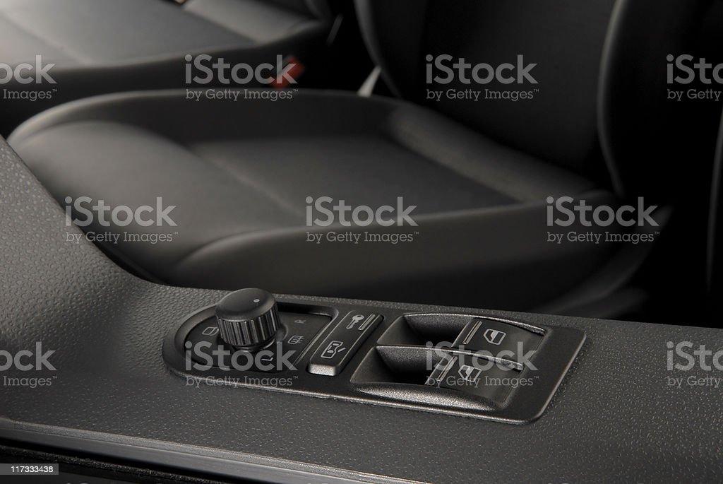 Car Lock Button royalty-free stock photo