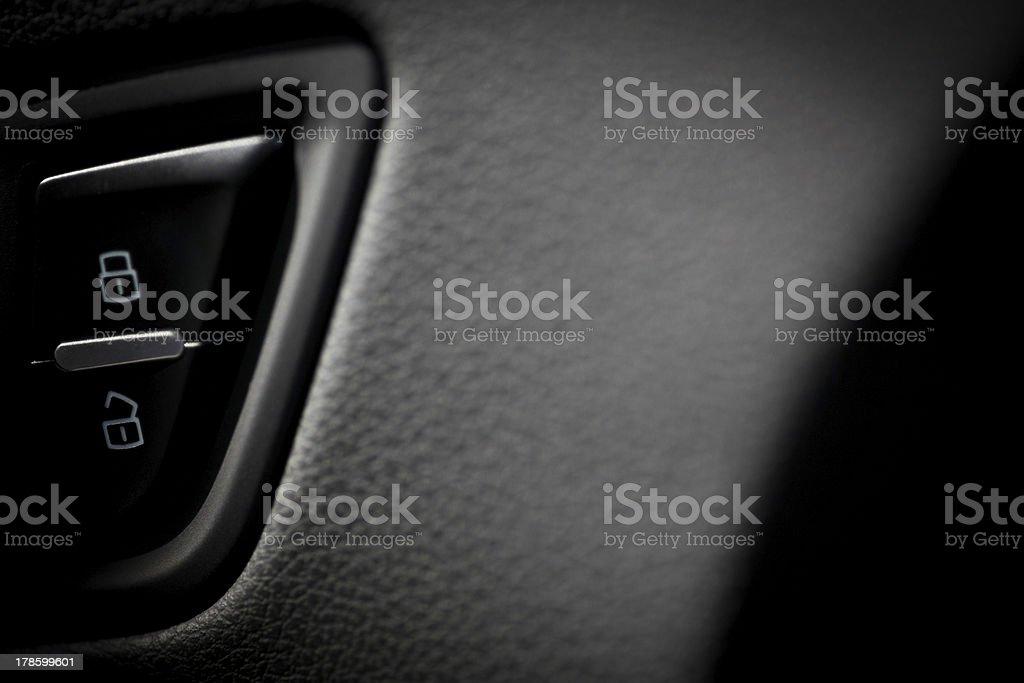 Car lock royalty-free stock photo