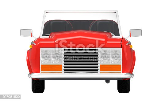 1087080996 istock photo car luxury cabriolet red front 927081500