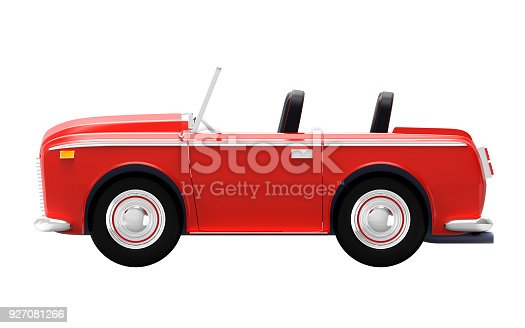 1087080996 istock photo car luxury cabriolet red side 927081266