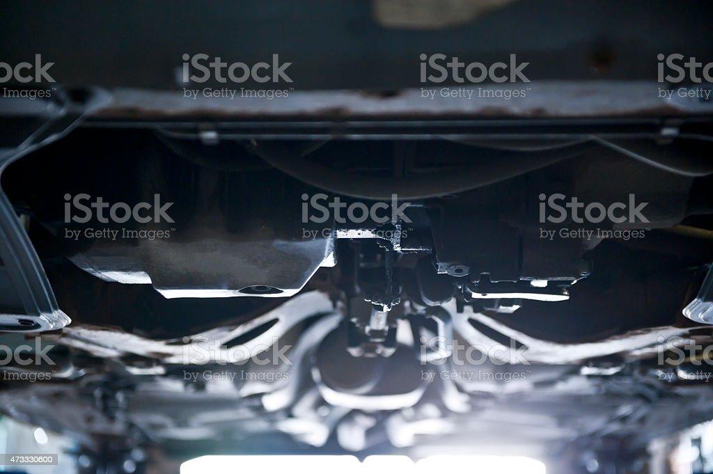 Car maintenance stock photo