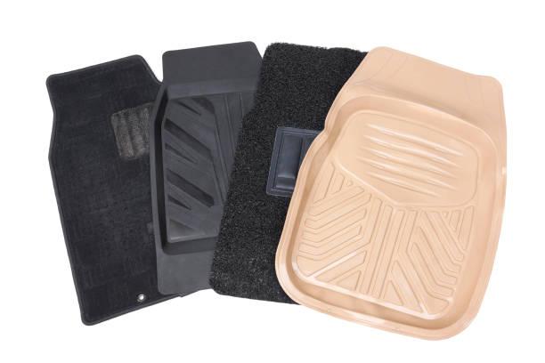 Car mats stock photo