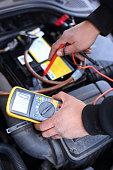 istock Car mechanic at work 1219594616