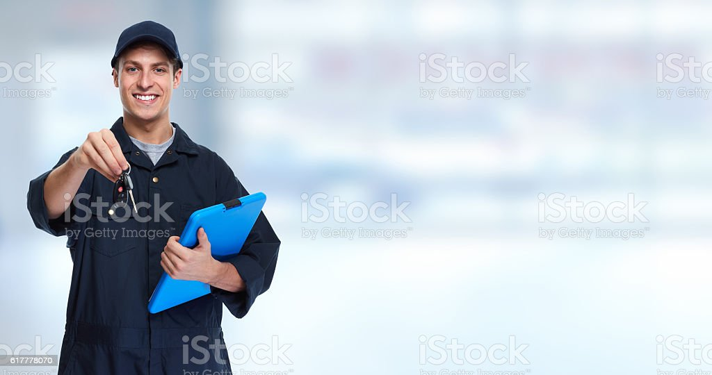Car mechanic. stock photo