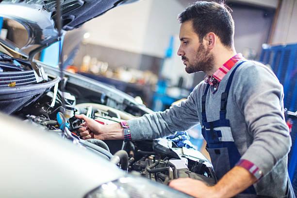 Auto mechanic Reparatur der
