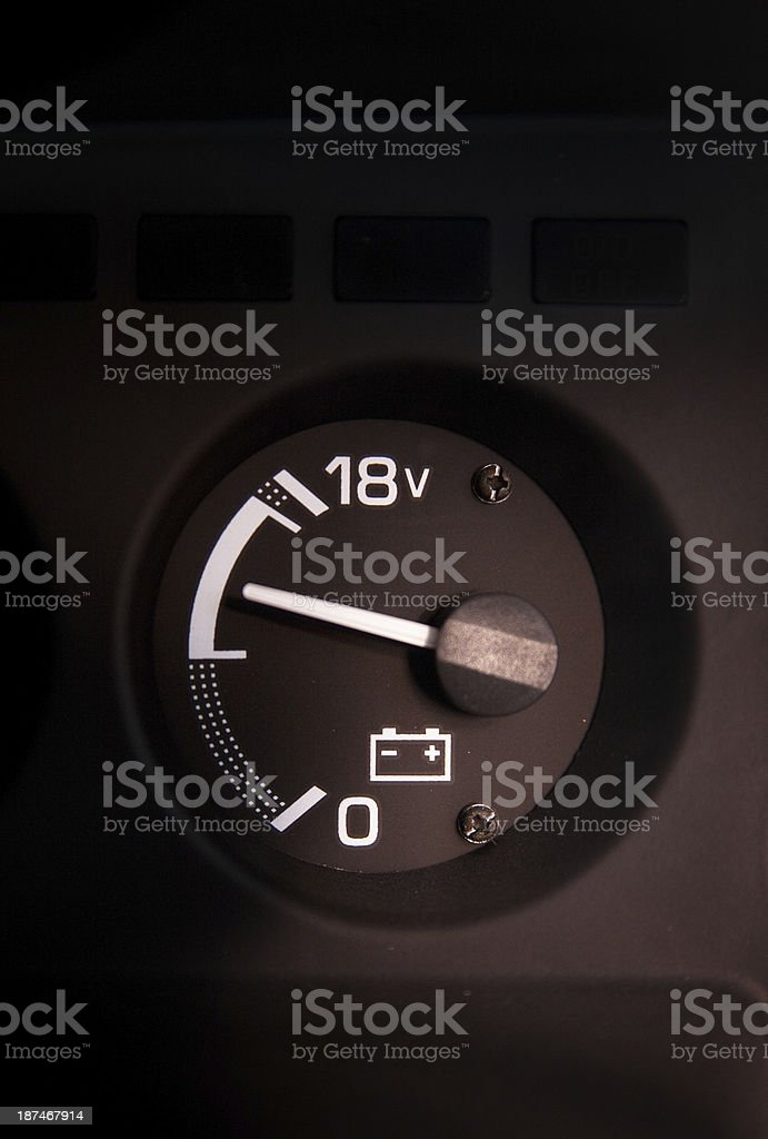 Car Mileage royalty-free stock photo