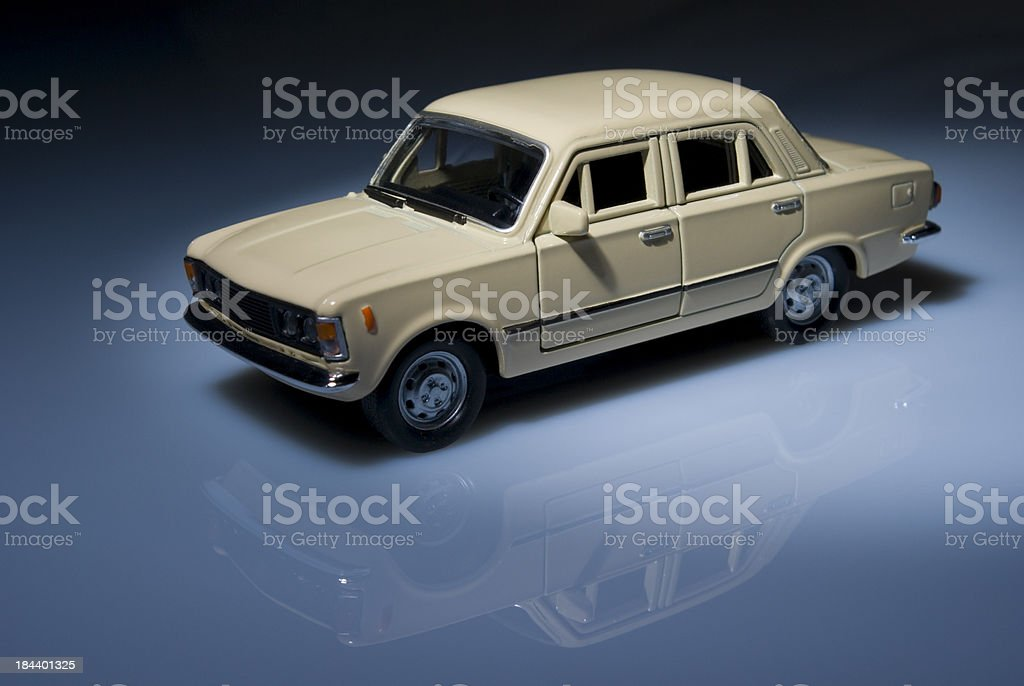 car miniature royalty-free stock photo
