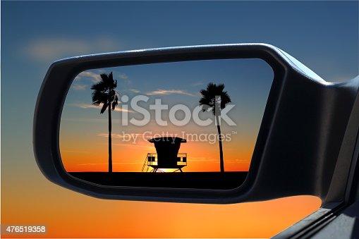 istock Car Mirror 476519358