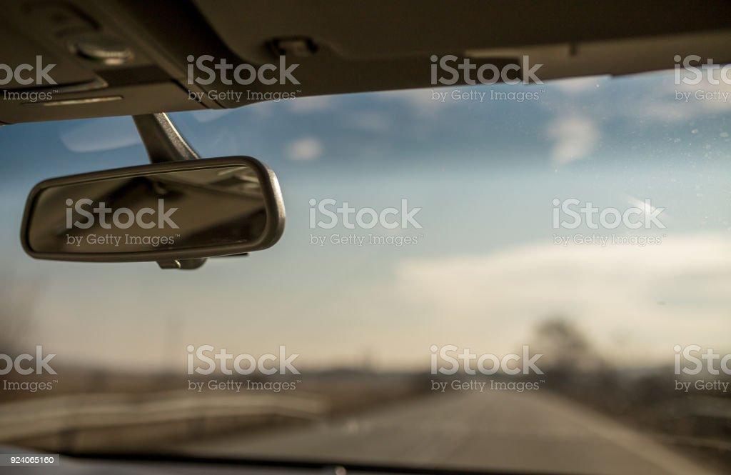 Espelho de carro - foto de acervo