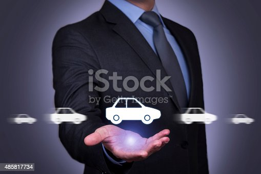 683425144 istock photo Car Motion on Human Hand 485817734