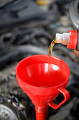 istock Car Oil Change 1155628541