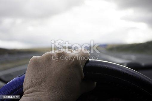 639525926 istock photo Car on Highway 696500172