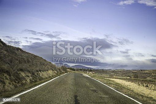 639525926 istock photo Car on Highway 909364378