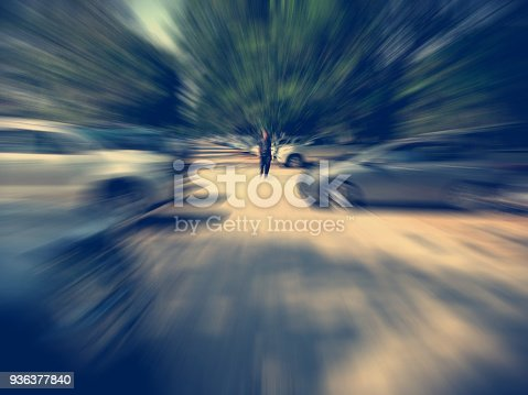 640042252 istock photo car on the road with motion blur background 936377840