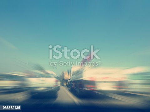 640042252 istock photo car on the road with motion blur background 936382436