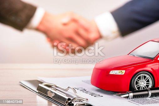 Car Ownership, Car Rental, Handshake, Contract, Car