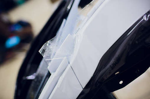 Car Paint Protection Protect Coating Installation Stock Photo & More Pictures of Adult