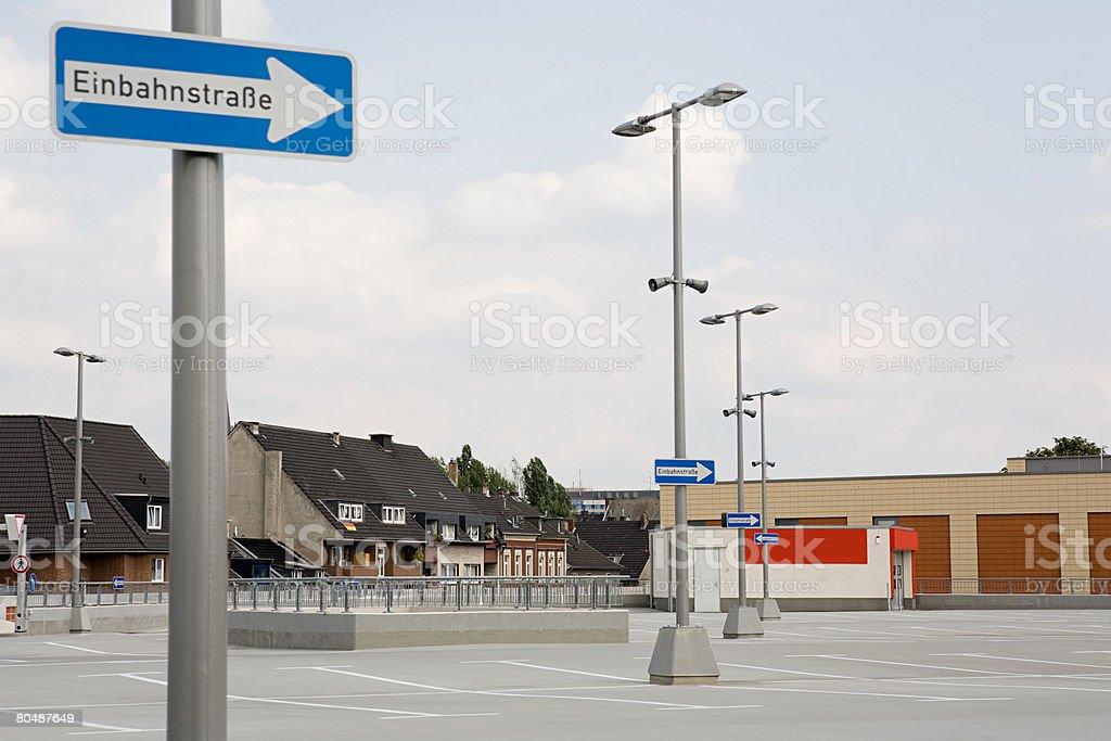 Car park 免版稅 stock photo