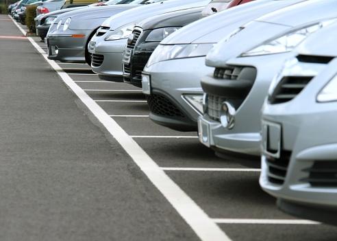 Car Park Stock Photo - Download Image Now