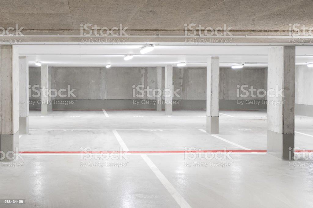 car parking garage stock photo