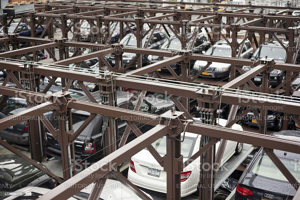 Car Parking In Nyc Stock Photo & More Pictures of American