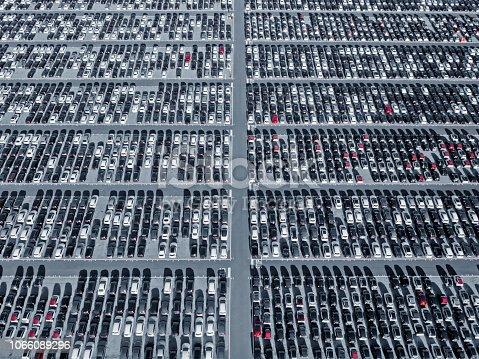 652712094 istock photo Car parking lot 1066089296