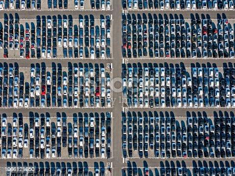 652712094 istock photo Car parking lot 1066121650