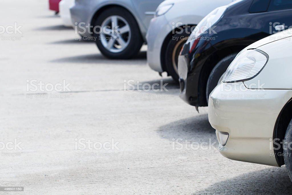 Auto Parkplatz – Foto