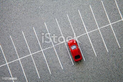 Car Parking, bird's-eye view