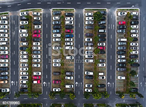 istock Car parking 624769960